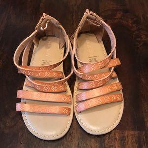 Old Navy zip sandals